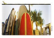 Surfboards At Waikiki Carry-all Pouch