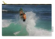 Surfer Action Hawaii Carry-all Pouch