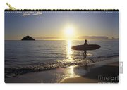 Surfer At Sunrise Carry-all Pouch