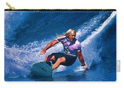 Surfer Dude Catching A Wave Carry-all Pouch