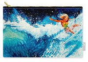 Surfer Girl Carry-all Pouch by Hanne Lore Koehler