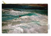 Surfer On Surf, Sunset Beach Carry-all Pouch