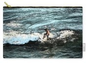 Surfer On Wave Carry-all Pouch