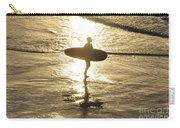 Surfers Last Sunlight Carry-all Pouch