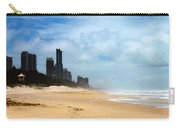 Surfers Paradise On A Stormy Day Carry-all Pouch