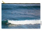 Surfing At Honolua Bay Carry-all Pouch