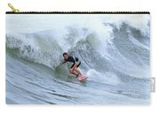 Surfing Bogue Banks 3 Carry-all Pouch