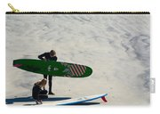 Surfing Couple Carry-all Pouch