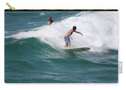 Surfing The White Wave At Huntington Beach Carry-all Pouch