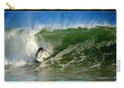 Surfing The Winter Atlantic Carry-all Pouch
