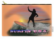 Surfing U.s.a. Carry-all Pouch