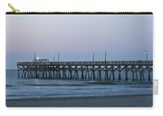 Surfside Beach Pier At Dawn Carry-all Pouch