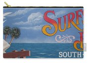 Surfside Beach Sign Carry-all Pouch