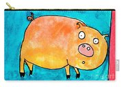 Surprised Pig Carry-all Pouch