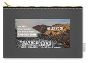 Surprising Facts Of Hollywood Sign Carry-all Pouch