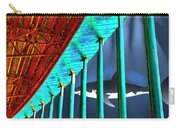 Surreal Bridge Shark Cage Carry-all Pouch