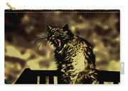 Surreal Cat Yawn Carry-all Pouch