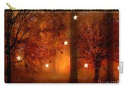 Surreal Fantasy Autumn Woodlands Starry Night Carry-all Pouch