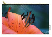Surreal Orange Lily Carry-all Pouch