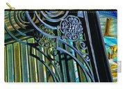 Surreal Reflection And Wrought Iron Carry-all Pouch