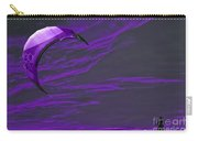 Surreal Surfing Purple Carry-all Pouch