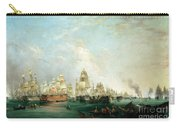 Surrender Of The Santissima Trinidad To Neptune The Battle Of Trafalgar Carry-all Pouch