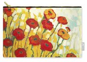 Surrounded In Gold Carry-all Pouch by Jennifer Lommers