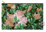 Surrounded Leaf Carry-all Pouch