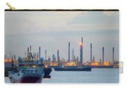 Survey And Cargo Ships Off The Coast Of Singapore Petroleum Refi Carry-all Pouch