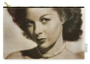 Susan Hayward By Mb Carry-all Pouch