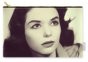 Susan Strasberg, Vintage Actress Carry-all Pouch