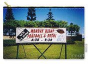 Sushi And Football In Hawaii Carry-all Pouch