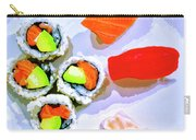 Sushi Plate 6 Carry-all Pouch