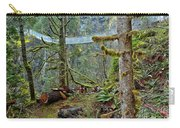 Suspended In The Rain Forest Carry-all Pouch