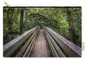 Suspension Bridge To Destiny Carry-all Pouch