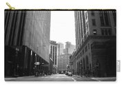 Sutter Street - San Francisco Street View Black And White  Carry-all Pouch