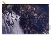 Suvorov Crossing The Alps In 1799 Carry-all Pouch