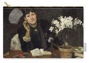 Sven Richard Bergh - The Artist, Julia Beck 1883 Carry-all Pouch