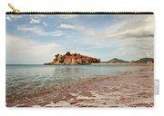 Sveti Stefan Beach Carry-all Pouch