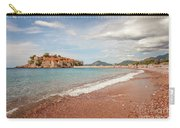 Sveti Stefan Island Iconic Landmark Carry-all Pouch