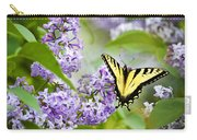 Swallowtail Butterfly On Lilacs Carry-all Pouch