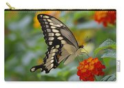 Swallowtail On A Lantana Carry-all Pouch