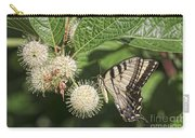 Swallowtail With Flowers Carry-all Pouch