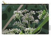 Swamp Milkweed Abstract Carry-all Pouch