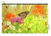 Swamp Milkweed And Monarch Carry-all Pouch