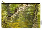 Swamp Reflections Abstract Carry-all Pouch