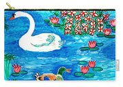 Swan And Duck Carry-all Pouch