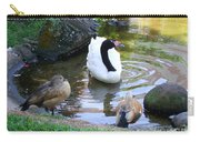 Swan And Wood Ducks Carry-all Pouch