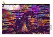 Swan Bird Animal Lake Summer  Carry-all Pouch
