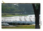 Swan Boat In A Lake Carry-all Pouch